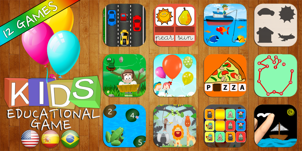 Kids Educational Game 3 Pescapps